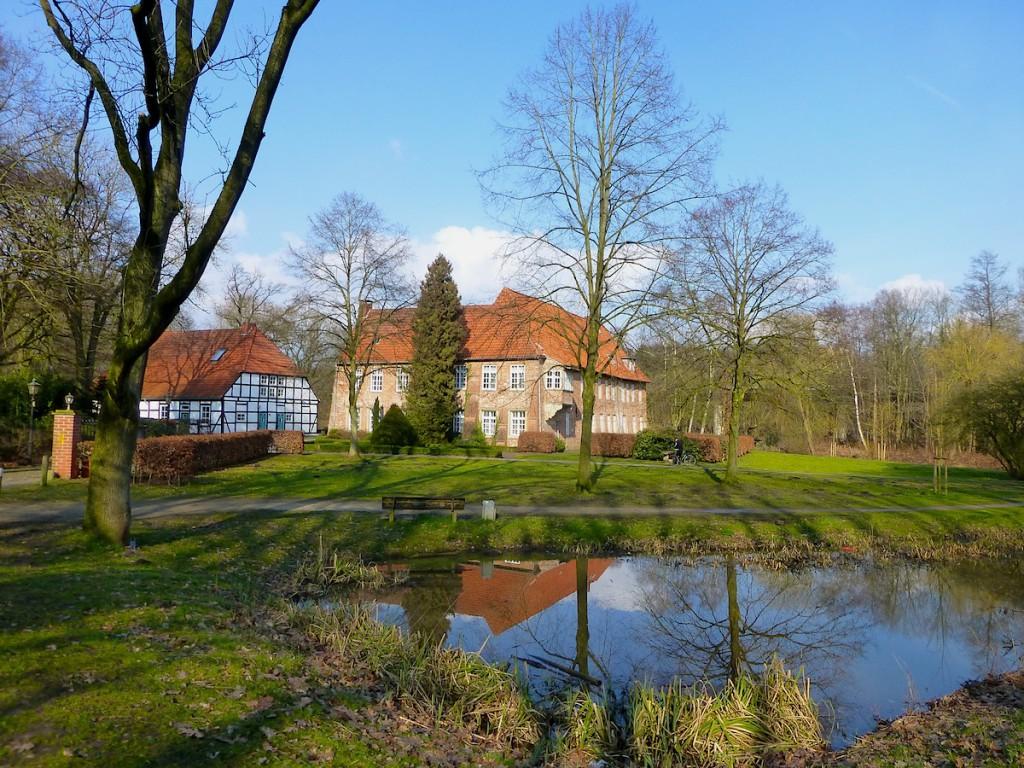 Spaziergang durch Bremen-Blumenthal: Haus Blomendal ist mehr als einen Blick wert.