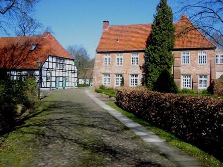 Burg Blomendal in Bremen-Blumenthal